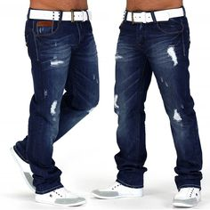Jeans hose used look