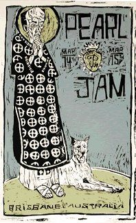 Band: Pearl Jam  -  Artist: Ames Bros.