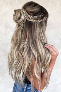 half lang haar 18 Schne Ferien Half Up Frisuren fr langes Haar amp; Samantha Fashion Life 18 Schne Ferien Half Up Frisuren fr langes Haar amp; Samantha Fashion Life Gruenwald-sara frisuren 18 Schne Ferien Half[] hairstyles for kids Hairstyle Curly, Bun Hairstyles For Long Hair, Holiday Hairstyles, Braids For Long Hair, Hairstyles For School, Braided Hairstyles, Wedding Hairstyles, Indian Hairstyles, Hairstyle Ideas