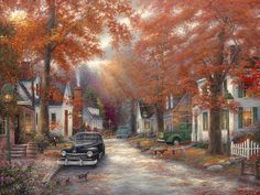 """""""A Moment on Memory Lane"""" by Chuck Pinson."""