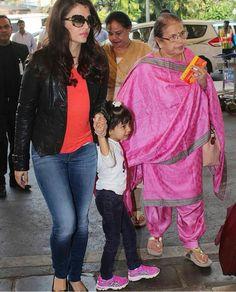 Aishwarya Rai 3 generations