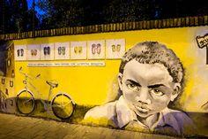 """Roma, con """"Pinacci Nostri"""" la street art svela la storia di Pineta Sacchetti"""