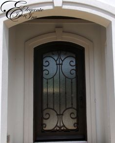 Custom wrought iron door. Decor, Doors, Single Doors, Wrought Iron Doors, Home Decor, Iron Doors, Fireplace