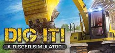 DIG IT A Digger Simulator-POSTMORTEM Digger, Broadway Shows, Games, Plays, Gaming, Toys, Spelling, Game