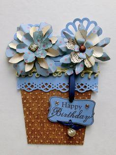 Card: Flowerpot card