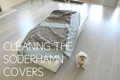 Cleaning Ikea Soderhamn sofa covers