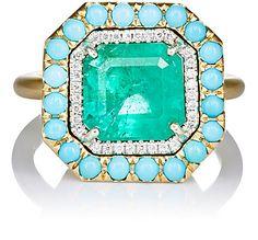 Irene Neuwirth Diamond Collection Mixed-Gemstone Ring - Rings - 504240584