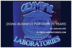 An orthodontic laboratory, Olympic Laboratories www.OlympicLaboratories.com