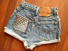 Stud shorts