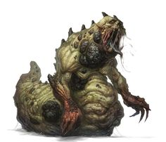 Creature Spot - The Spot for Creature Art, Artists and Fans - Zombie Slug andWorms!