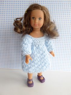 Hey, I found this really awesome Etsy listing at https://www.etsy.com/listing/270886198/handknit-doll-dress-for-all-7-8-dolls
