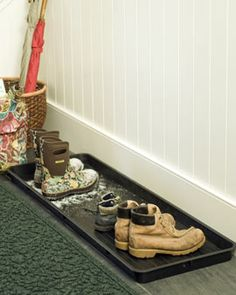 Garage/Mudroom  Boot Tray