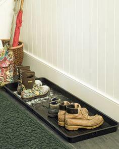 Garage/Mudroom  Boot Tray