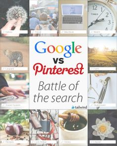 Battle of the Engines: Google vs. Pinterest Search