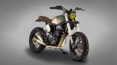 Wow! Honda Dominator NX650 Street Tracker by Ton-Up Garage #motorcycles #streettracker #motos | caferacerpasion.com                                                                                                                                                                                 Más
