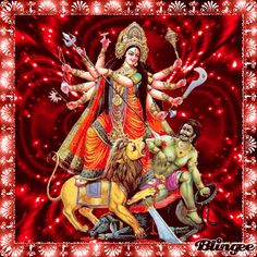 Durga Maa, Hanuman, Happy Navratri Images, Navratri Puja, Good Morning Gif, Goddess Lakshmi, Hare Krishna, Gods And Goddesses, Photo Editor