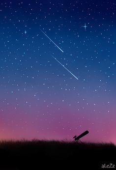 Wishing upon a star.. by Alezz92.deviantart.com on @deviantART
