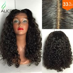 Find More Human Wigs Information about Kinky Curly Silk Top Full Lace Wigs Human…