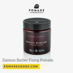 Daimon barber fixing pomade is a strong hold, medium shine water based pomade made for those classic cuts from contours, to side parts, pomps and slick backs. Mens Pomade, Hair Pomade, The Originals