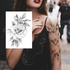 Real Tattoo, Fake Tattoos, Tattoo You, Leg Tattoos, Body Art Tattoos, Tattoo Flash, Back Of Hand, Painting Tattoo, Airbrush Painting