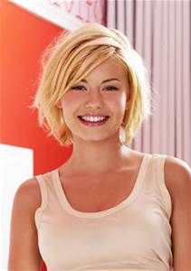 ... Blonde Medium Bob Haircut for Women: Elisha Cuthbert's Bob Hairstyle