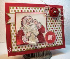 Santa's List stamp set