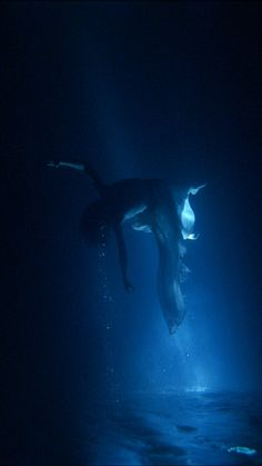 Isolde's Ascension (The Shape of Light in Space After Death) by Bill Viola   ~hope it's as pretty as this~