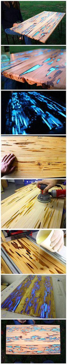 ideias criativas em madeira