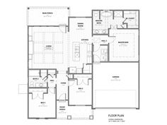 Custom Cantrell floor plan-- Manuel Builders | Interiors ...