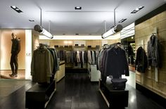 CP Company shops system by Park Associati