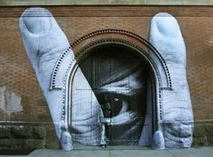 JR & Liu Bolin Artwork in New York City