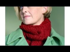 Moebius Basketweave Cowl - Really a seamed twisted strip.  Good tutorial at end of how to seam knits though.