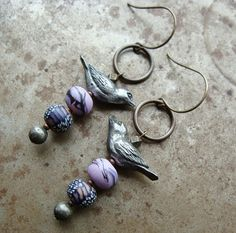 Art Bead Scene Blog: Tutorial Tuesday: Totem Earrings #GreenGirlStudios #HumbleBeads #DIY