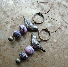 Art Bead Scene Blog: Tutorial Tuesday: Totem Earrings #GreenGirlStudios #HumbleBeads #DIY