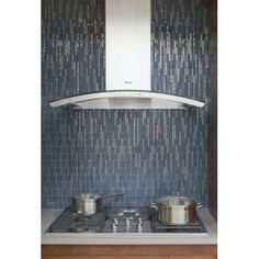 Icestix recycled glass tile by Interstyle Ceramic & Glass Ltd.