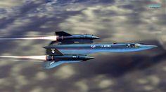 SR-71 Blackbird Cruising