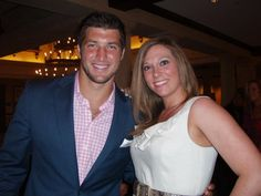 Tim Tebow at the Tebow Gala
