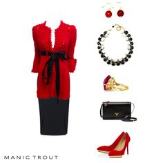 How To Wear It: Red, Red, Red