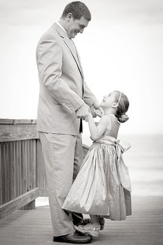 Father & Daughter Photo, need a pic of my girls with their Daddy like this!