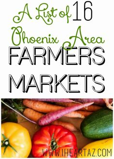 Check out this list of farmers markets all over the Phoenix area. Plus. find other tips for how to support local companies.