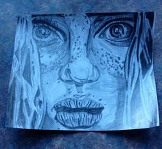 My own copy of a drawing done by Christina Papagianna