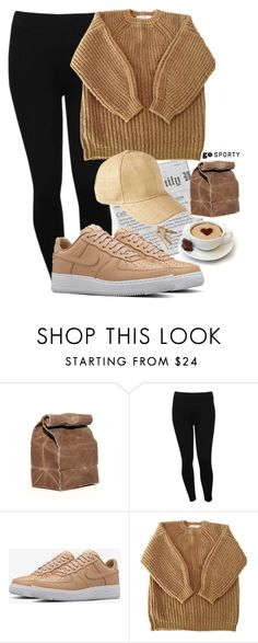 """#sportystyle"" by ana-anny-blagojevic ❤ liked on Polyvore featuring M&Co, NIKE, Étoile Isabel Marant, San Diego Hat Co. and sportystyle"