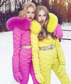 ODRI down ski suit