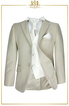 This fine Italian style single breasted jacket is the ideal finishing touch to any formal occasion wear. With more than 30 years of expert craftsmanship, this boy's suit promises to be one of the best fit for young lads in boys formal wear. Shop now at SIRRI kids #boys wedding outfits #prom suits for boys #page boy suit #boys suits sale