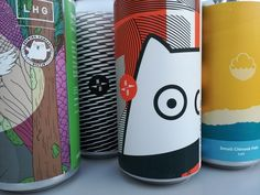 Craft Beer Packaging InnovationsFor me, some of the most incredible packaging design is currently being produced within the craft beer market. Beer Packaging, Packaging Design, Craft Beer Labels, Bottle Bag, Can Design, Printing Labels, Innovation, How Are You Feeling, The Incredibles