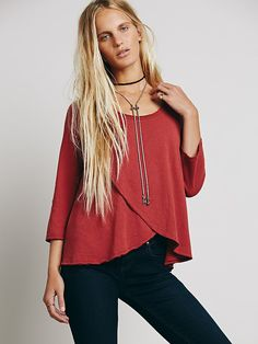 We The Free Bonsai Tee at Free People Clothing Boutique