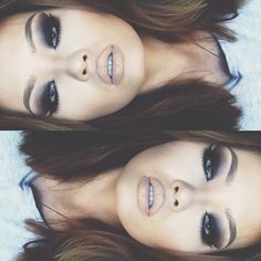 Super dark smokey eye