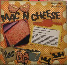 Nanne's Creations: Cook book layout #2-Mac-N-Cheese