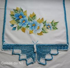 http://nilzozo.blogspot.com/2012/10/panos-de-copa-com-borboleta-de-croche-e-pintura-de-flores.html