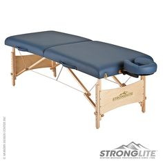 Stronglite Standard #massagetable is made from the finest hardwood with a natural lacquer finish. http://www.vincimed.com/stronglite-standard-massage-table/